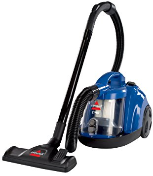 3. Bissell Zing Rewind Bagless Canister Vacuum