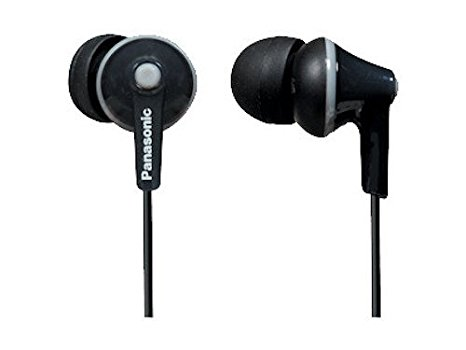 4. Panasonic ErgoFit In-Ear Earbuds Headphones with Mic/Controller