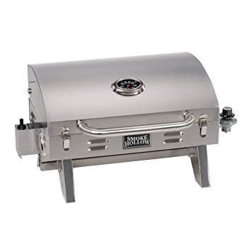 3. Smoke Hollow 205 Stainless Steel TableTop Propane Gas Grill