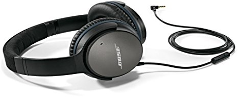 5. Bose QuietComfort 25 Acoustic Noise Cancelling Headphones for Apple devices