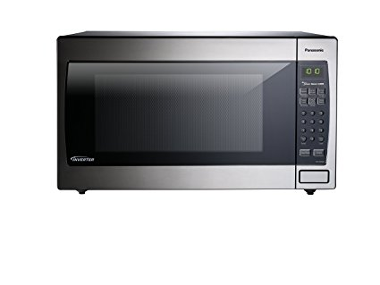 4. Panasonic NN-SN966S Countertop/Built-In Microwave with Inverter Technology