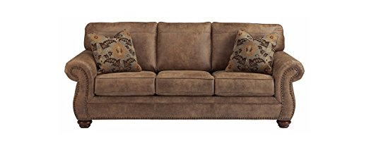 3. Ashley Furniture Signature Design - Larkinhurst Traditional Sleeper Sofa