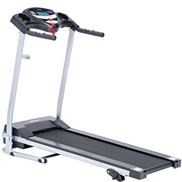6. Merax JK1603E Easy Assembly Folding Electric Treadmill