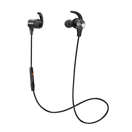 7. Bluetooth Headphones, TaoTronics Wireless 4.1 Magnetic Earbuds