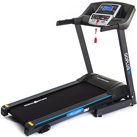 3. Goplus Folding Treadmill