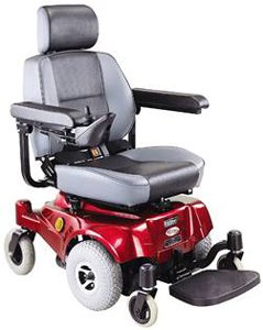 4. Compact Mid-Wheel Drive Power Chair