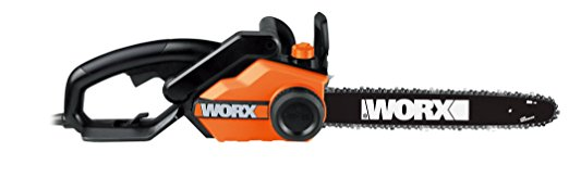 4. WORX WG303.1 16-Inch 14.5 Amp Electric Chainsaw with Auto-Tension, Chain Brake