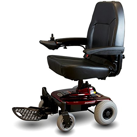 5. Shoprider Jimmie Power Chair with Black Seat