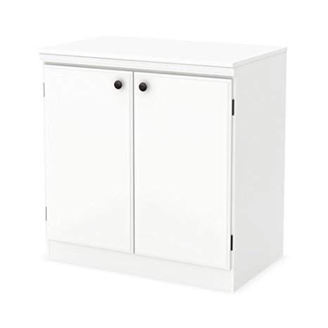 3. South Shore Morgan 2-Door Storage Cabinet
