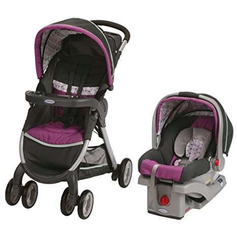 10. Graco Fastaction Fold Click Connect Travel System Stroller