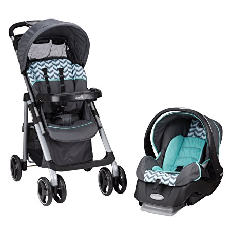 8. Evenflo Vive Travel System with Embrace