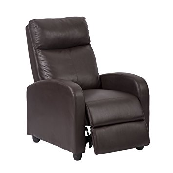 3. Single Recliner Chair in brown