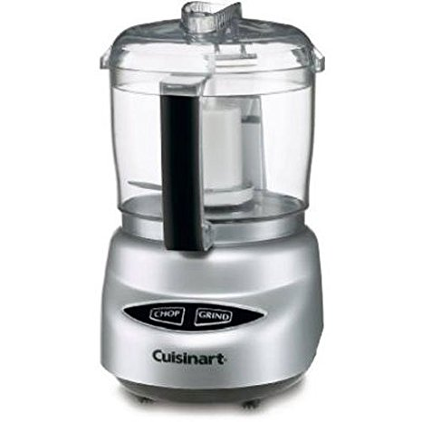 3. Cuisinart DLC-2ABC Mini Prep Plus Food Processor Brushed Chrome and Nickel