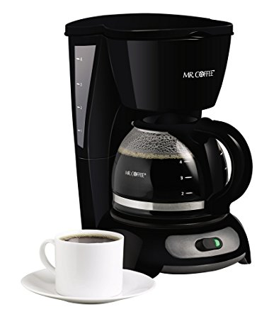 3. Mr. Coffee 4-Cup Switch Coffee Maker
