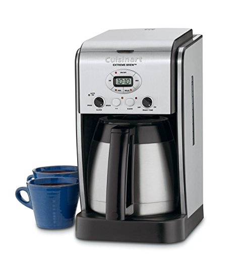 10. Cuisinart DCC-2750 Extreme Brew 10-Cup Thermal Programmable Coffeemaker