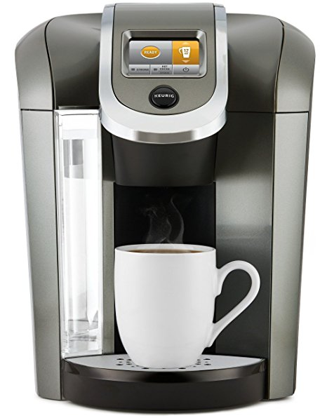 9. Keurig K575 Single Serve K-Cup Pod Coffee Maker with 12oz Brew Size