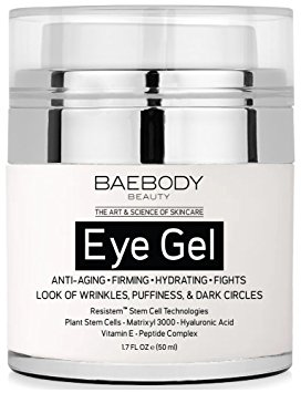 3. Baebody Eye Gel for Dark Circles, Puffiness, Wrinkles and Bags