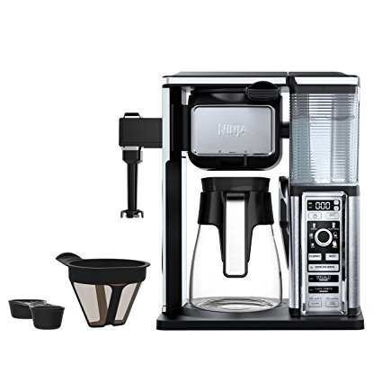 6. Ninja Coffee Bar Brewer System with Glass Carafe