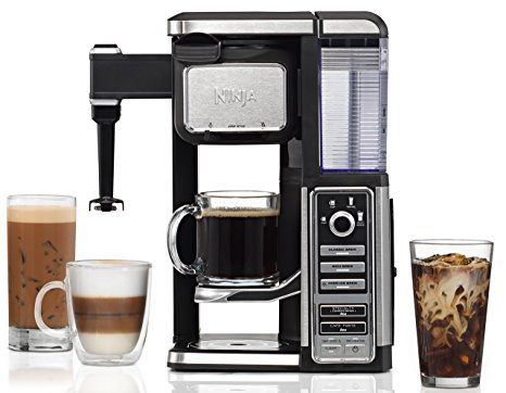 5. Ninja Coffee Bar Single-Serve System with Built-In Frother