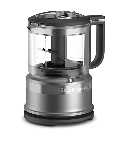 8. KitchenAid KFC3516CU 3.5 Cup Mini Food Processor