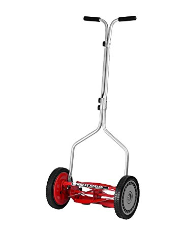 10. Great States 304-14 14-Inch 5-Blade Push Reel Lawnmower