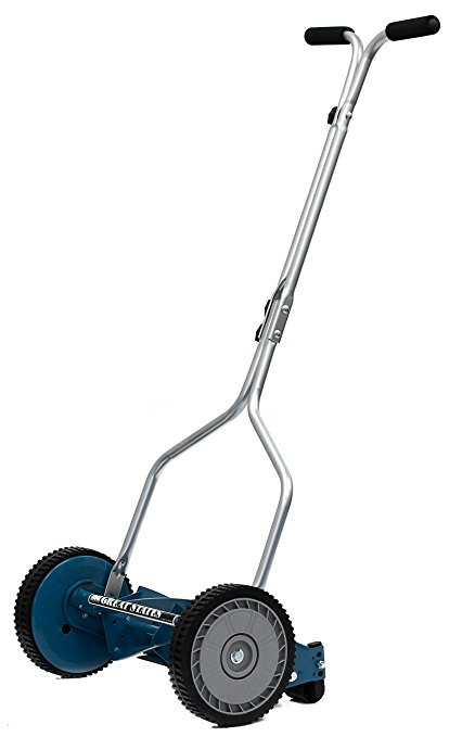 8. Great States 204-14 Hand Reel 14 Inch Push Lawn Mower