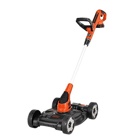 5. BLACK+DECKER MTC220 20V Lithium Ion 3-in-1 Trimmer/Edger and Mower