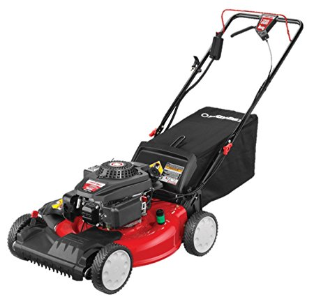 9. Troy-Bilt TB270ES 159cc 21-Inch FWD Self-Propelled Mower