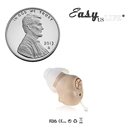 4. Super Mini Half Penny-Sized, In-The-Canal (ITC), New Digital Hearing Amplifier