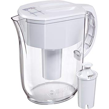 2. Brita Large 10 Cup Everyday Water Pitcher with Filter