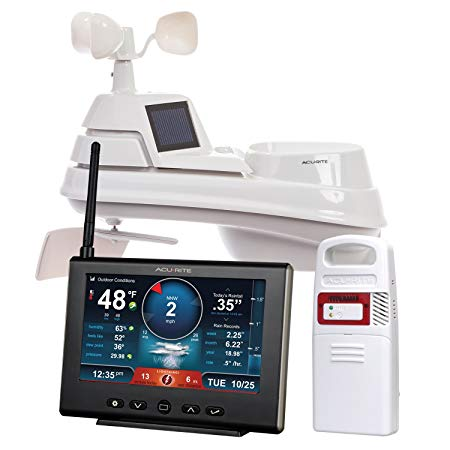 9. AcuRite 01024 Pro Weather Station with Lightning Detector