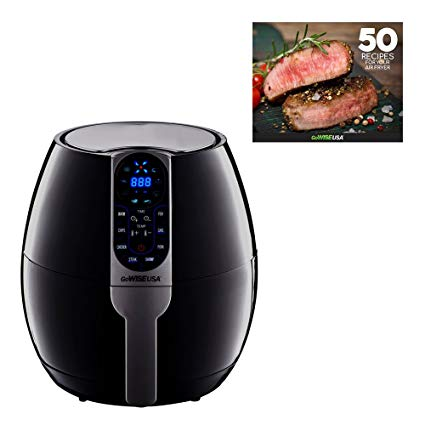 4. GoWISE USA 3.7-Quart Programmable Air Fryer