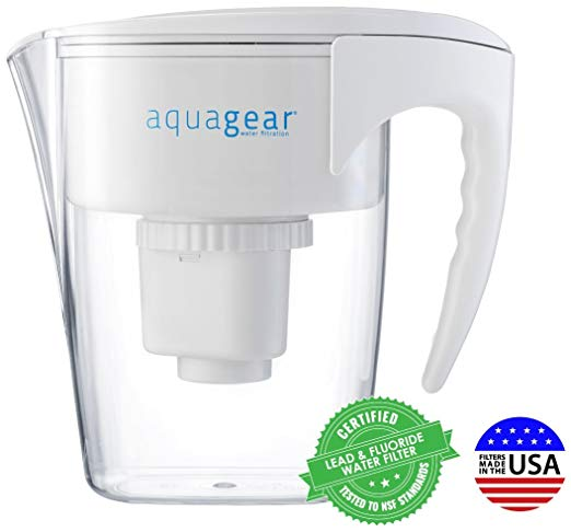 9. Aquagear Water Filter Pitcher