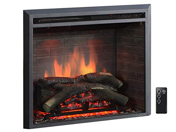 Puraflame 26 Western Electric Fireplace Insert