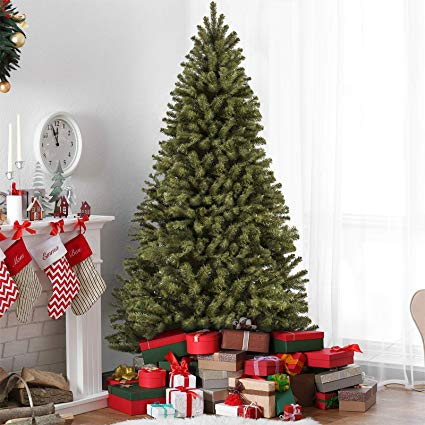 best choice products 75 premium spruce hinged artificial christmas tree