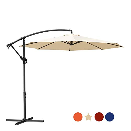 16ac6ac568 10 Best Cantilever Umbrella Reviews By Consumer Report In 2019 - The ...