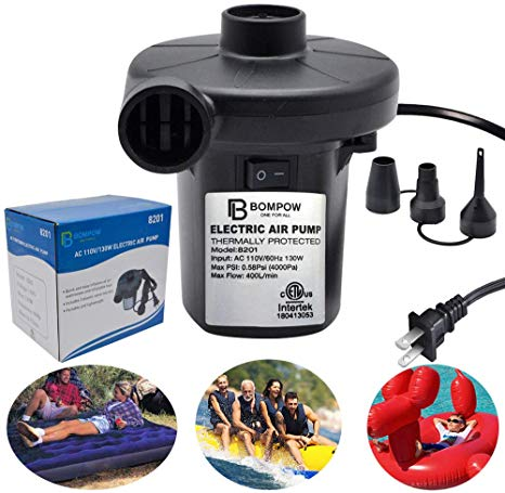 10 Best Air Pump For Inflatables Reviews By Consumer